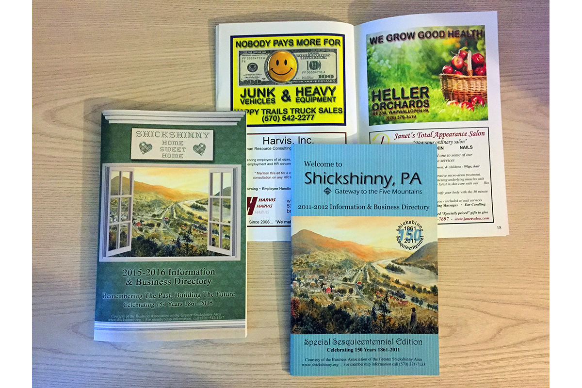 Shickshinny Booklets